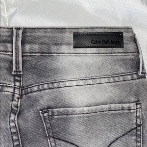 Calvin Klein grey denim skinny jeans! Size 27